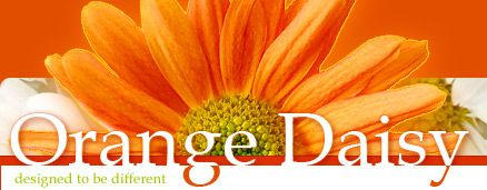 Orange Daisy, love this site for embroidery and fabric!