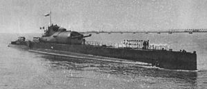 French Submarine SURCOUF. World's largest submarine prior to WWII. Probably sunk by the Allies when suspected of supplying the Nazis. Wreckage never found.