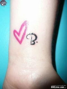 Tattoos on Pinterest | Letter B, Queen Bee Tattoo and B Tattoo