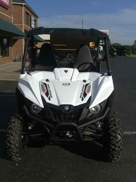 New 2017 Yamaha Wolverine R-Spec EPS Alpine White w/Sunt ATVs For Sale in Kentucky. 2017 Yamaha Wolverine R-Spec EPS Alpine White w/Suntop, 2017 Yamaha Wolverine R-Spec EPS Alpine White w/Suntop ULTIMATE TERRAIN TAMER The terrain-taming Wolverine R-Spec EPS all but begs to tackle, explore and conque extreme terrain. Features may include: Supreme Off-Road Capability The Wolverine R-Spec EPS features an aggressive, compact look and is designed to be the most capable off-road recreation…