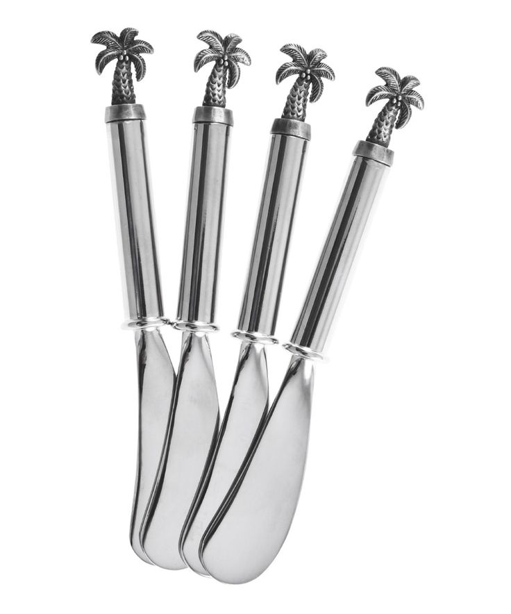 Palm Tree Spreader   Set Of Four By Thirstystone #