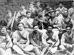 Cristero War - Mexico 1920s. A unit of Cristeros preparing for battle. For more information, see the new movie FOR GREATER GLORY.