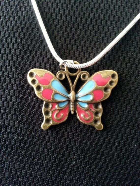 The Colourful Butterfly by FussandFinery on Etsy