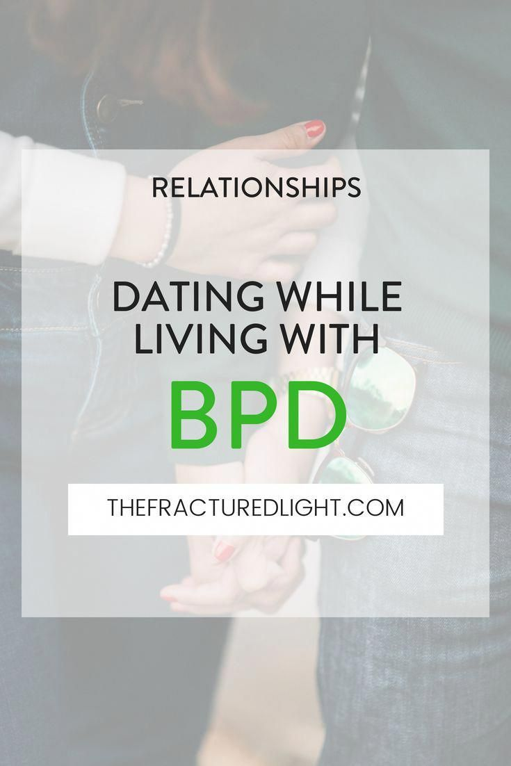 dating someone with borderline personality disorder