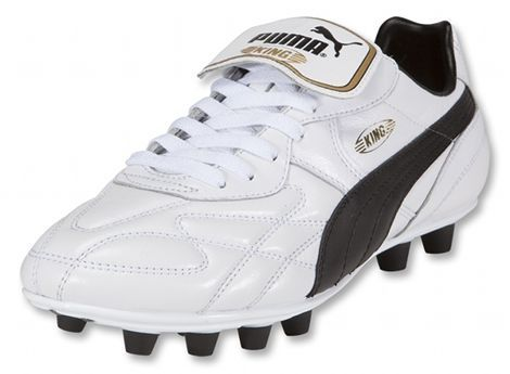 Puma King Top White Gold Black- Prior to my discovery of the powerswerve this was the ish