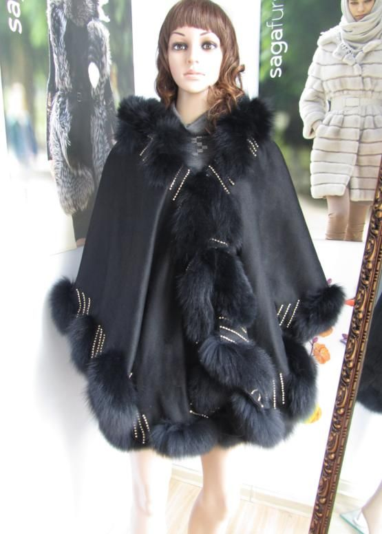 latest burqa designs cashmere scarves shawls with fox fur trim crystal for women