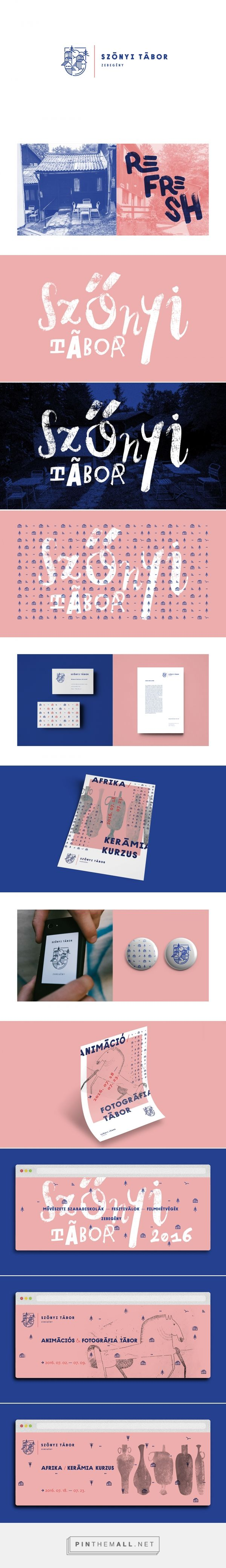 Szonyi Tabor Branding by Hoffmann Tamás Boldizsár on Behance | Fivestar Branding – Design and Branding Agency & Inspiration Gallery