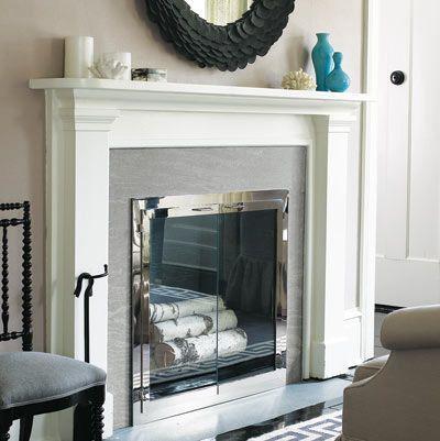 8 Best Slate Fireplace Images On Pinterest Mantles Slate