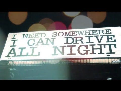 "Needtobreathe, ""Drive All Night"" // I have a current obsession with this song."