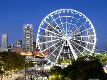 South Bank is home to some of Brisbane's most famous tourist attractions