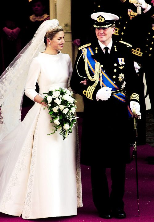 1434 best royal family of the netherlands images on for Julian alexander wedding dresses