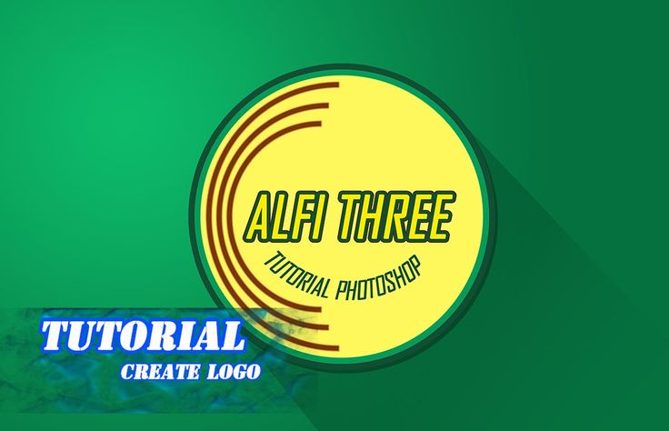 Photoshop tutorial create simple logo