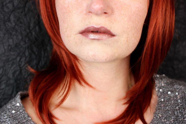 essence metal shock lipstick iron maiden #essence #lippenstift #tragebilder #essencelove #rosegold