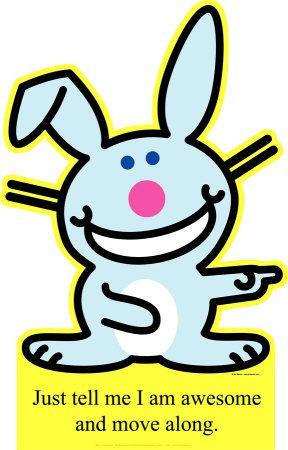sissy gilbert happy bunny