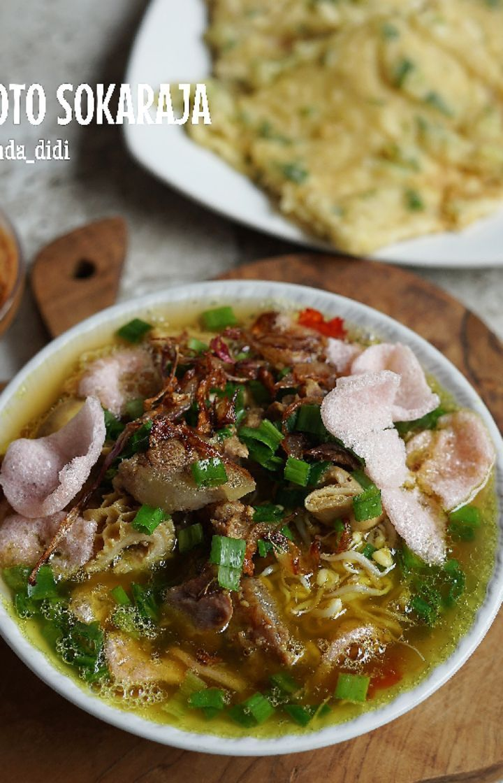 Soto Sokaraja Purwokerto Makanan