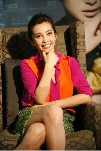 free shipping Li bingbing star in same style stitching long sleeve blouse shirt on  $41.00