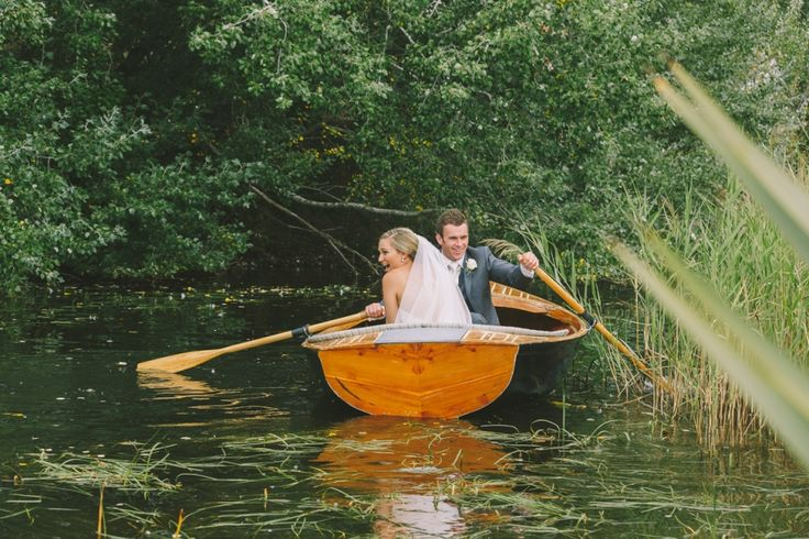 Messing about in boats in Richmond. #weddings #tasmania #richmond Image Credit: Fred + Hannah