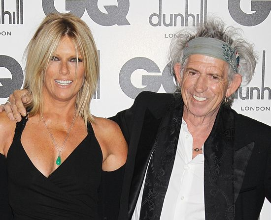 Patti Hansen and Keith Richards | All the Beauty Looks From the GQ ...