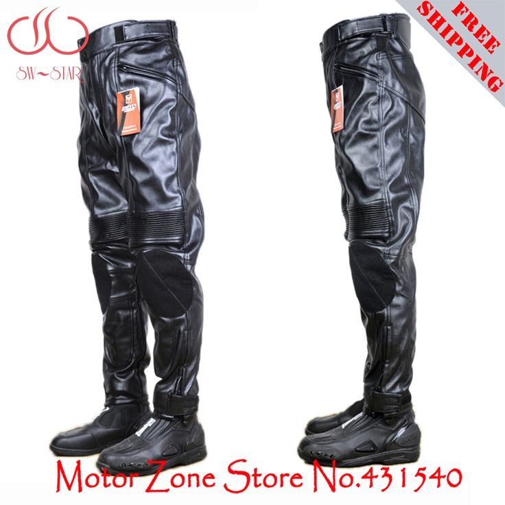 Aliexpress.com : Buy DUHAN 100% PU leather Motorcycle Racing Biker cycling Jeans pads Pants racing trousers black riding pants P4 from Reliable pants cycling suppliers on SW-STAR Motor Zone