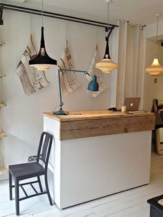 Home Office Marble Desk