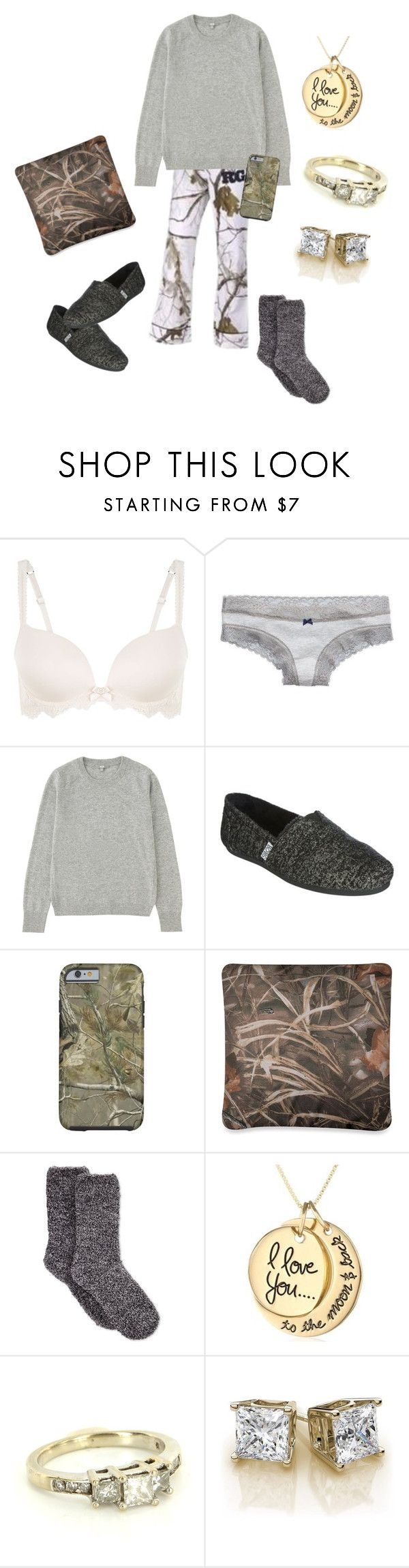 """""""lazy"""" by pistols-n-pearls ❤ liked on Polyvore featuring Aerie, Realtree, Uniqlo, Skechers and Charter Club"""