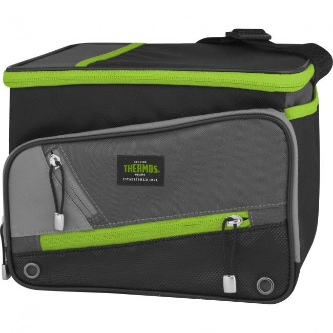Take your lunch to work or take a few cold cans to the beach in this insulated Thermos lunch bag.