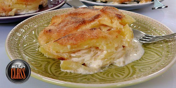 Πατάτες dauphinoise