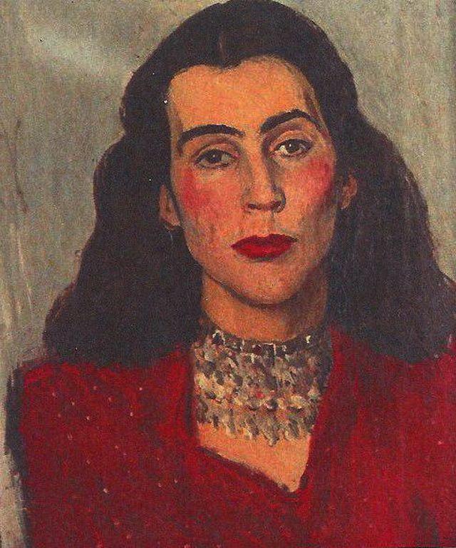 Τσαρούχης Γιάννης – Yannis Tsarouchis [1910-1989] Maria Roussen, paletaart