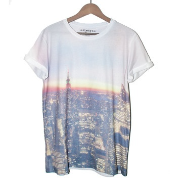 UNISEX Tシャツ/NYC Haze Tee by Last But Won