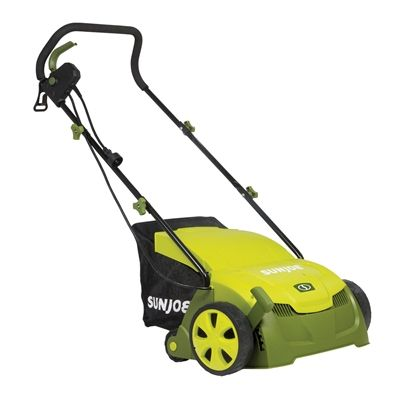 Sun Joe 13-in 12 Amp Electric Scarifier and Lawn Dethatcher