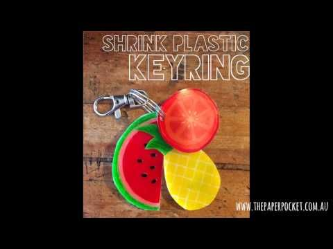 The possibilities are endless with Shrink Plastic!