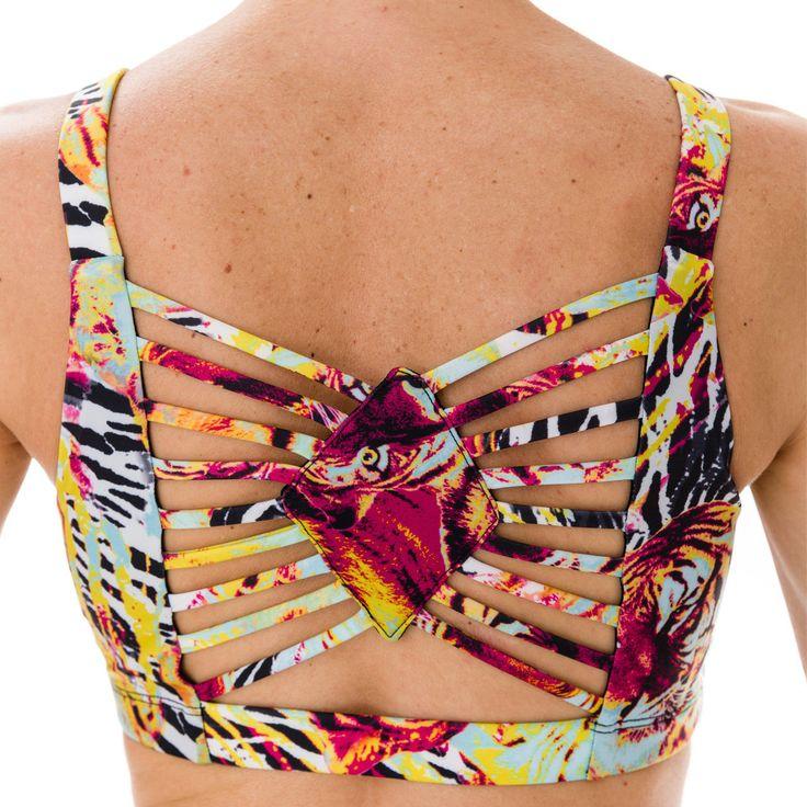 Onzie Sun Ray Bra Top - Hot Yoga Clothing, Bikram Yoga Clothes, Core Power Yoga