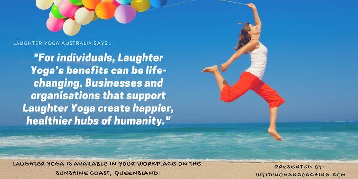 Health benefits of #laughteryoga #wyldwoman #positivity