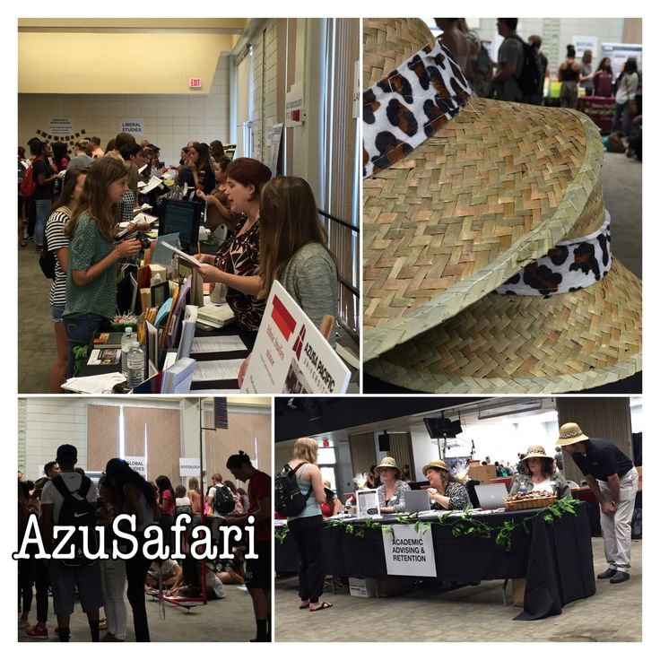"AzuSafari Majors Fair is one of many ""beyond the classroom"" events integrated into the new Freshmen Year Seminar."