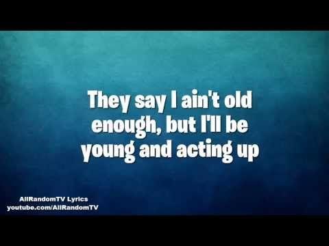 Asher Roth - Actin Up (Feat. Rye Rye, Justin Bieber, Chris Brown) Lyrics!