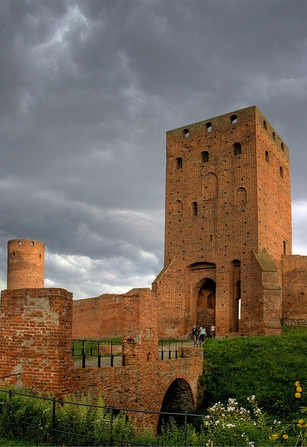 Czersk Castle (or its ruins) by Maciunio, via Flickr  Fora Kalwaria, in #Poland. (Castle of the Dukes of Mazovia in Czersk)