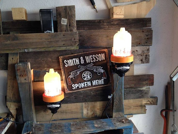 Lamps built from industrial Water pumps / Turbines with Harley Fan Design.