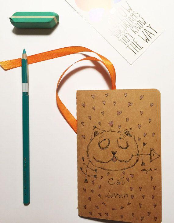 Appassionato di gatti-quaderno con gatti-piccolo di gufobardo