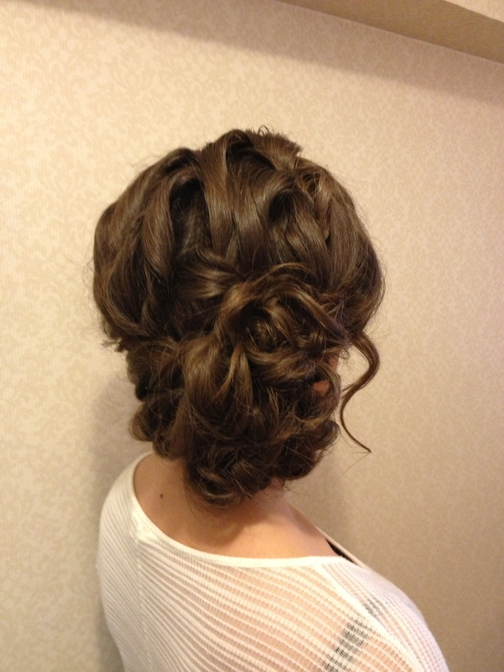 Loose Side Updo Www Theupdoguru Com Hair Pinterest
