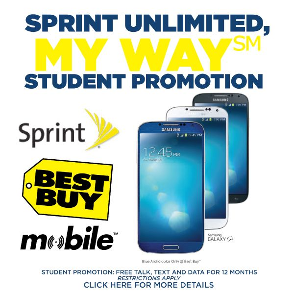 Best Buy Mobile Specialty Stores offer FREE Student Mobile Plan: Sprint's My Way Promotion #APLUSPLAN #shop #cbias