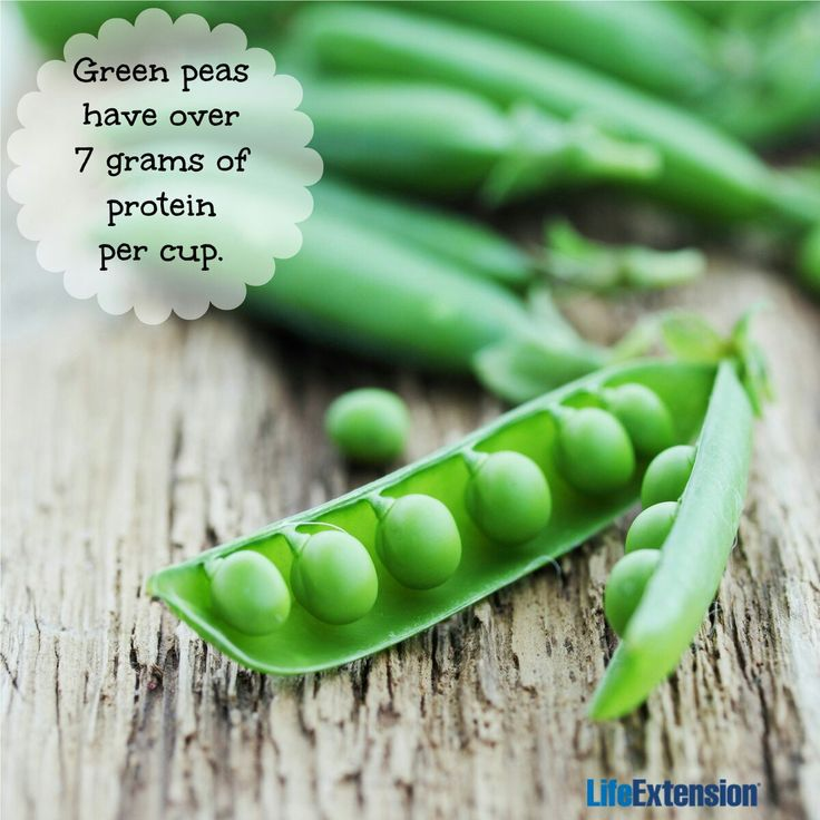Peas make for a great addition to spring dishes! Plus, they are a good source of plant-based protein (and fiber). #peas #nutrition