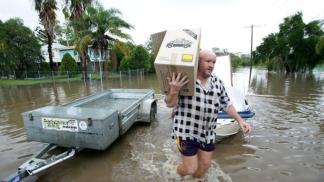 Evacuate - Queensland 28 Jan 2013