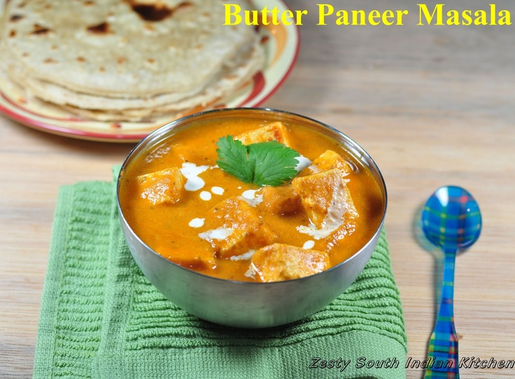 Paneer Makhani/ Butter Paneer Masala: A guest for Feeding Big and More