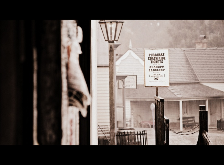 Street scape at Sovereign hill .....By Eveolv Photography