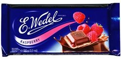 Wedel Milk Chocolate Bar with Raspberry Filling - My favorite Chocolate.