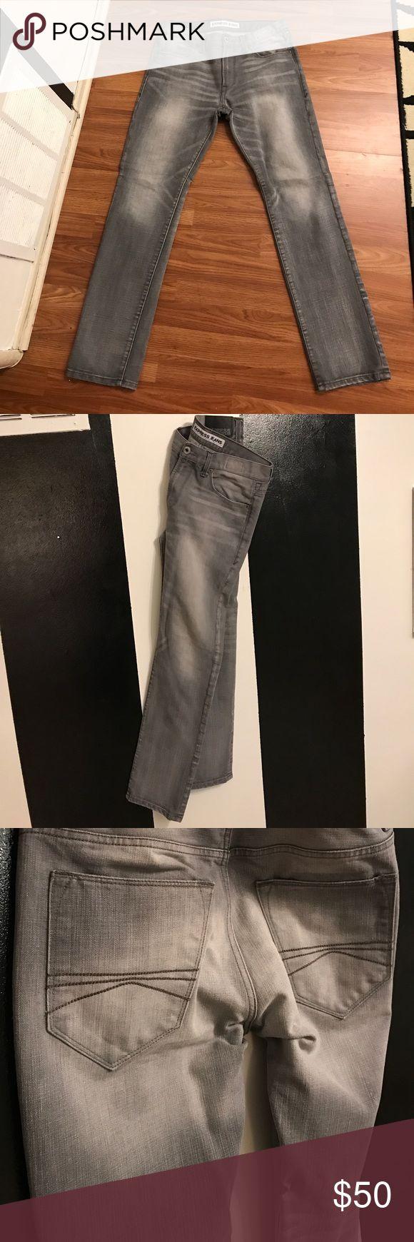 Express men's jeans Closet close out !!!!!Express men's distressed jeans. 32x32 Express Jeans Slim