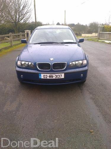 lovely 02 320 diesel bmw for sale nctd
