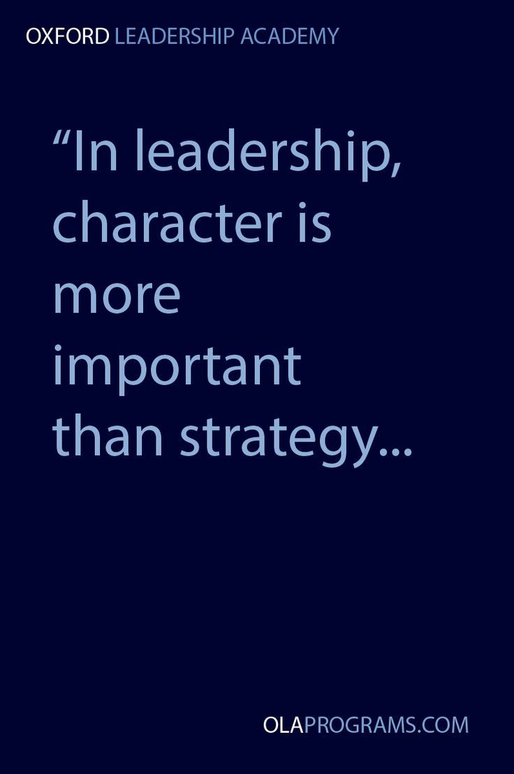 Leadership Quotes 28.   Awesome example!