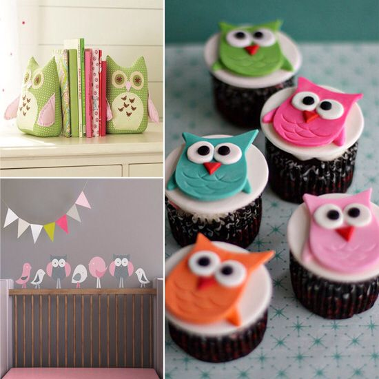 Little owl cupcakes