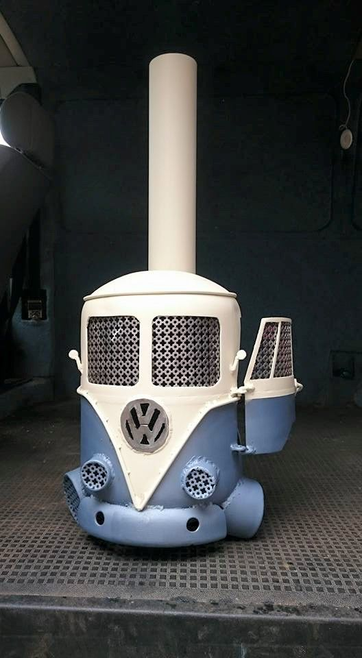 VW log burners created to order, contact me on facebook PIP WORKS